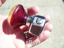 Original 1950 Vintage Spinner Volant Pinup De Girlie Bouton Rat Hot Rod