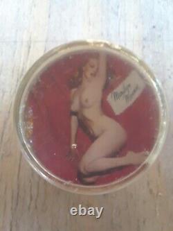 Originale Des Années 1950 Vintage Spinner Volant Marilyn Monroe Knob Rat Hot Tringle