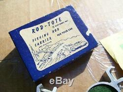 Porte-tige D'origine De Nos Accessoires De Pêche Vintage S 1950' 1940' Boîte Automatique Fourre-tout