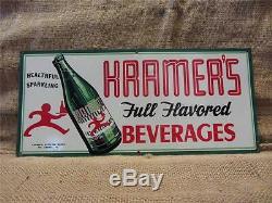 Rare Antique Old Vintage Kramer Soda Cola Beverage Boisson Magasin 9156