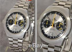 Rare Dugena Chronographe Automatique Calibre 12 Buren, Jamais Porté New Old Stock