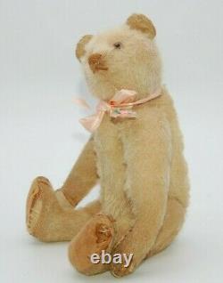 Rare Petit Steiff Blanc Antique Teddy 1920s Old Vintage Bear