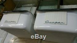 Réfrigérateur Crispers Anciennes Rétro Kelvinator Réfrigérateur Vieux Utilisé Rare De Nice