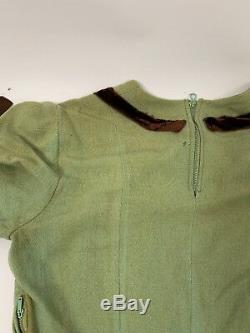 Robe Vintage Des Femmes Très Ancienne À La Main Des Années 40 Ou Plus Tôt A2320