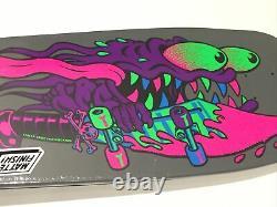 Santa Cruz Reissue Meek Slasher Blacklight Old School Skateboard Deck Réédition