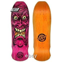 Santa Cruz Rob Roskopp Face Skateboard Deck 2021 Old School Vintage Reissue Nouveau