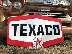 Signe À Gaz Huile Moteur Ancien Style Ancien Vintage Texaco