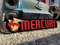 Signe Antique D'auto De Mercure D'ancien Modèle De Cru