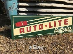 Signe De Gasoil De Station Service De Batteries De Style Antique Vintage Vintage Antique