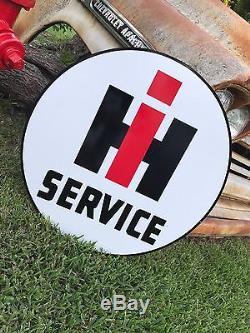 Signe De Service International Vintage Old Look Vintage Harvester International, Aspect Porcelaine
