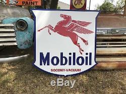 Signe De Station-service Mobil Oil Vintage De Style Ancien Vintage Mobil Oil Pegasus 40