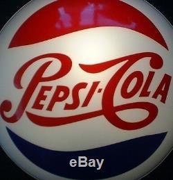 Signe Pepsi Vieux Signe Lumineux Style Antique Vintage