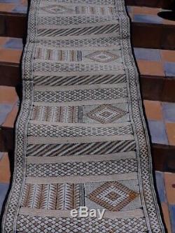 Tapis Marocain Antique. Vieux Tapis. Tapis Antique Handmad Berber En Laine Vintage 0017