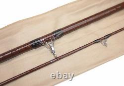 The Old School Carp Rod, 12 -2 Pièces Motif Traditionnel Fibre De Verre Creuse
