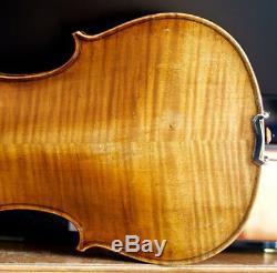 Très Vieux Violon Vintage Étiqueté Antonio Gagliano 1828 Geige