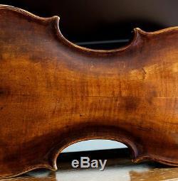 Très Vieux Violon Vintage Étiqueté Carlo Giuseppe Testore Geige
