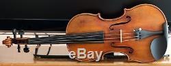 Très Vieux Violon Vintage Étiqueté Joan Bapt Guadagnini Geige