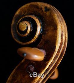 Très Vieux Violon Vintage Étiqueté N. Lupot 1790 Geige Alto