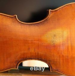 Très Vieux Violon Vintage Étiqueté Nicolaus Bergonzi 1765 Geige