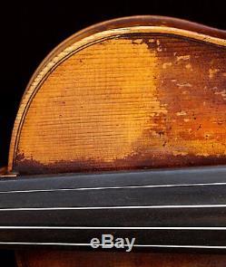 Très Vieux Violon Vintage Étiqueté Nicolaus Bergonzi Geige
