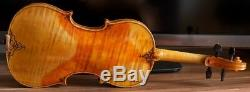 Très Vieux Violon Vintage Étiqueté Umberto De Stefano Geige
