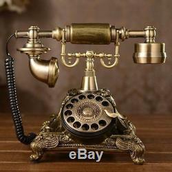 Uk Vintage Antique Téléphone D'autrefois Bureau Combiné Rétro Vieux Téléphone Nouveau Sb