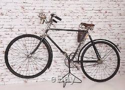 Vélo Ancien Vintage De Rar Avant Guerre Bsa 1909 Nickel England Oldtimer Fahrrad