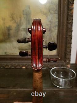 Vieux Français Violon Labellisé Jean Baptiste Vuillaume 366mm Vintage Antique