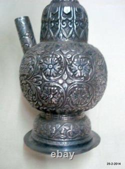Vieux Pipe De Fumage De Tabac De Narguilé Antique D'antiquité De Cru