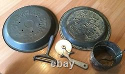 Vieux Vtg Antique Metal Kitchen Tool Utensil Grater Mixer Sifter Gadget Lot Of 20
