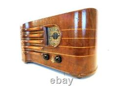 Vintage 1939 Emerson Old Depression Era Antique Stradivarius Violin Case Radio