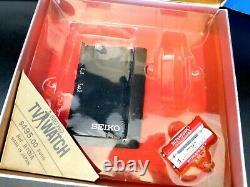 Vintage 1982 Antique Old Seiko T001 James Bond Wrist Watch Écran De Télévision