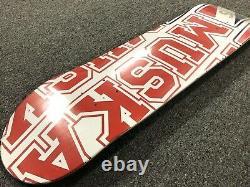 Vintage 2001 Shortys Chad Muska Skateboard Deck Seeled New Old Stock Birdhouse