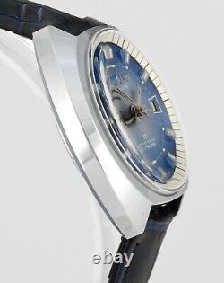 Vintage New Old Stock Vialux Super-shock Date Alarme Toutes Les Montres Wrist Suisse Mens