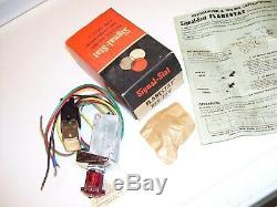 Vintage Nos Années 1960 Flarestat 105 Accessoire 12v D'urgence Risque D'interrupteur Flasher