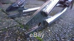 Vintage Old MI École Gt Bmx Fueler Us Made 20 Cadre Inch Et Une Fourchette