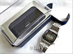 Vintage Otron LCD New Old Stock De Split Chronographe Numérique Montre Homme