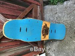 Vintage Planche À Roulettes Vieille École Powell Peralta Tony Hawk Madallion