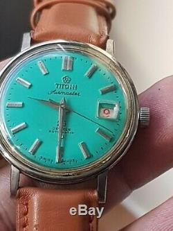Vintage Titoni Airmaster Automatique Date De Mens Montre-bracelet Vieux K591 Occasion Antique