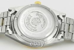 Vintage Titoni Cosmo King Rotomatic Steel Or Nouveau Vieux Stock Hommes Wrist Watch