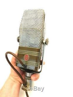 Vintage Vieux Travail Classique Rca 44bx Micro Radio De Qualité Studio Radio Antique