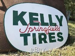 Vintage Vintage Old Style Kelly Springfield Pneus Signe