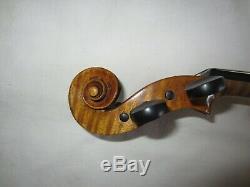 Violon Allemand Ancien 4/4 Guarnerius Copie Une Pièce En Arrière Violon Vintage