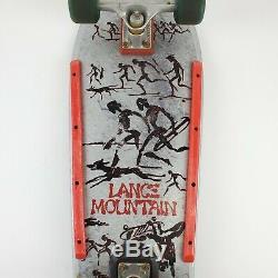 Vtg 1987 Powell Peralta Mountain Lance 80s Skateboard Bones Old School Rampe